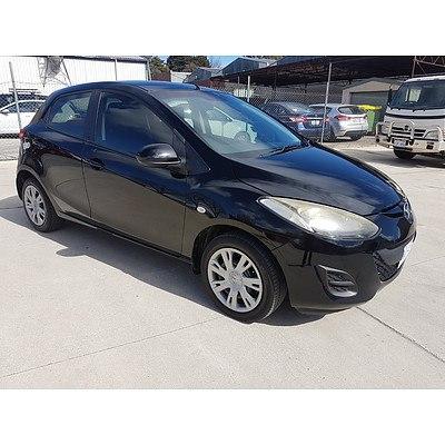 1/2011 Mazda Mazda2 NEO DE MY11 5d Hatchback Black 1.5L
