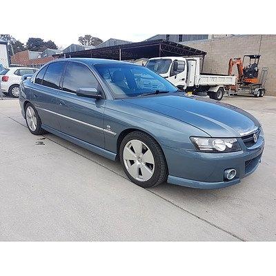 9/2004 Holden Calais  VZ 4d Sedan Blue 3.6L