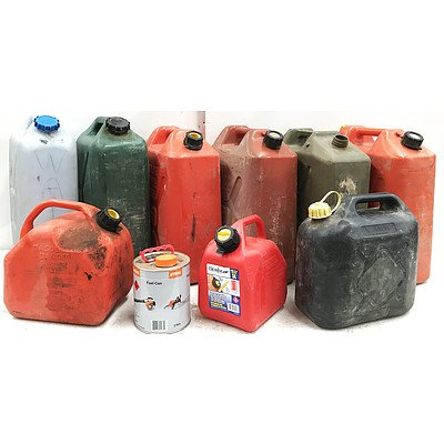 Fuel & Water Containers - Lot of 10