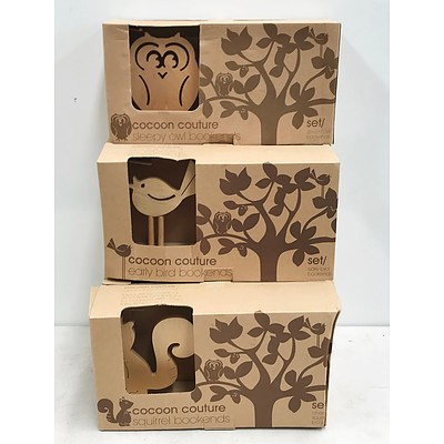 Cocoon Couture Bookends Sets x6