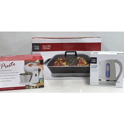 Lot of Brand New Kitchen Appliances