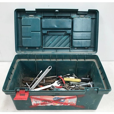 51cm Toolbox with Assorted Tools