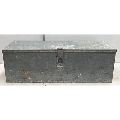 "Extra Large 45"" Toolbox with Tools"