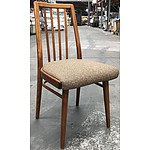 Retro Stained Oak Dining Chair