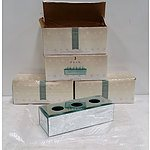 Four Moda Votive Holder x3, Triple Candle Holder from Dusk RRP $24.99 Each