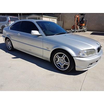 10/1999 BMW 323Ci E46 2d Coupe Silver 2.5L