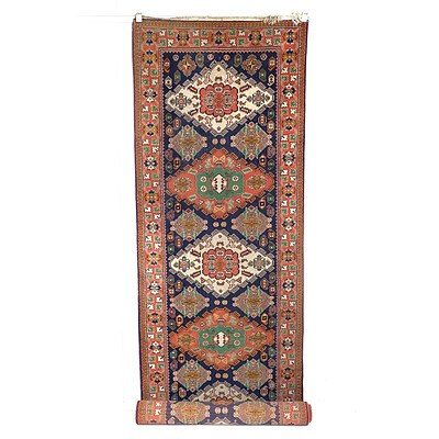 Eastern Hand Knotted Wool Pile Runner