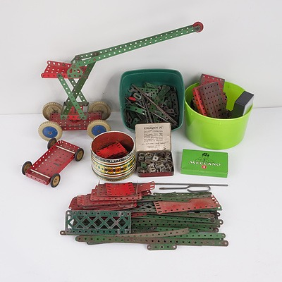 Group of Vintage Meccano