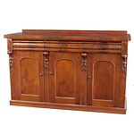 Australian Cedar Sideboard Base Late 19th Century