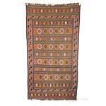 Tribal Soumak Flat Weave Rug