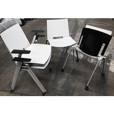 Four Contemporary Italian Designed Chairs