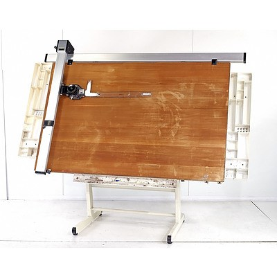 Vintage Bieffe Architects Drafting Table