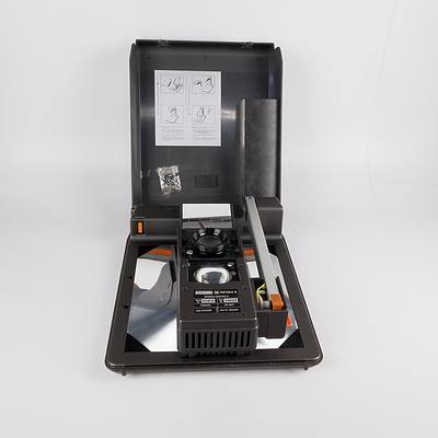 Kodak II Portable Projector with Transparency Film and Overhead Photocopy Film
