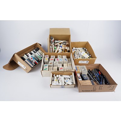 Group of Acrylic Paints and Markers Including Winsor and Newton, Jo Sonja's and More