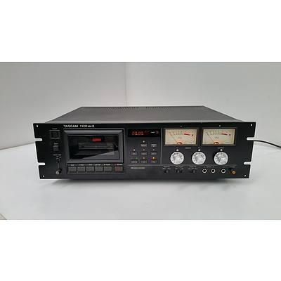 Tascam 112R MKII Professional Stereo Cassette Tape Player Deck