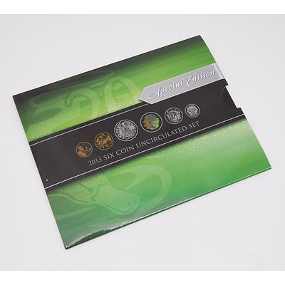 Special Edition 2013 Six Coin Uncirculated Set