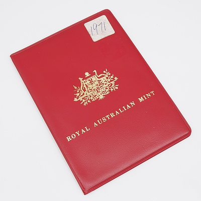 1971 Royal Australian Mint Proof Coin Set