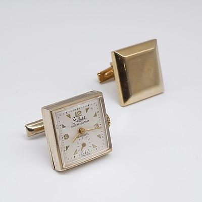 Pair of Sheffield Watch Cufflinks