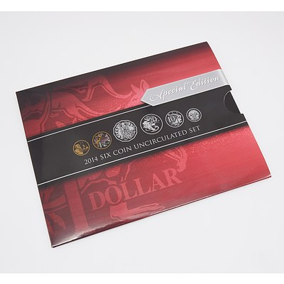 Special Edition 2014 Six Coin Uncirculated Set