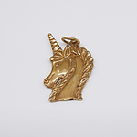 9ct Gold Unicorn Charm