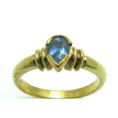 Natural Sapphire Ring - 9Ct Gold
