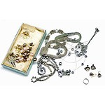 Faux Pearl & Silver-tone Jewellery Collection