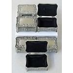 Pewter-look Jewellery or Trinket Boxes