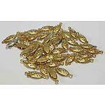 Gold-plated Pearl or Bead Clasps x44