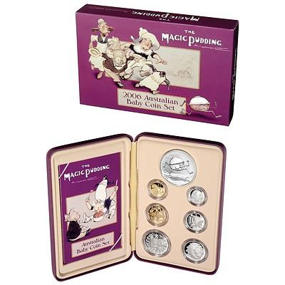 Australia 2006 Magic Pudding Proof Coin Set