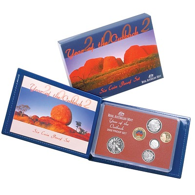 Australia: 2002 Proof Set Year Of The Outback
