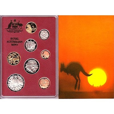 Australia: 1989 Proof Set Year Of The Outback