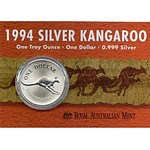 Australia Silver Kangaroo 1994