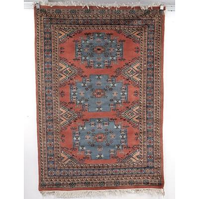 Hand Woven Wool Pakistani Bukhara