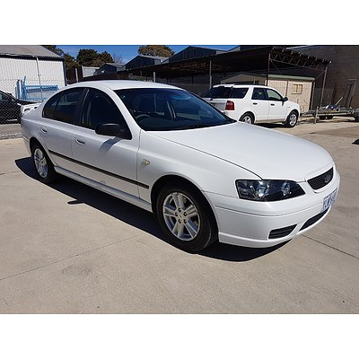 3/2006 Ford Falcon XT BF LPG 4d Sedan White 4.0L