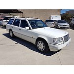 8/1994 Mercedes-Benz E220 4d Wagon White 2.2L - 7 seats