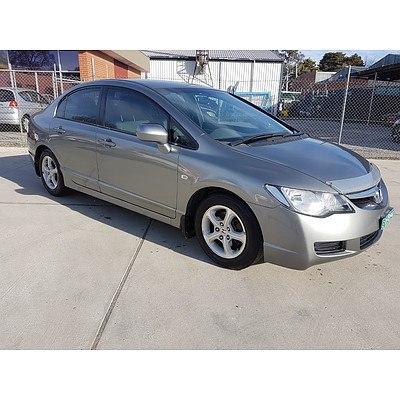 6/2006 Honda Civic Vti-l 40 4d Sedan Grey 1.8L
