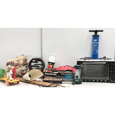 Pallet of Home Appliances & Decorations, Toys & Outdoors