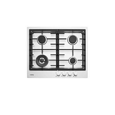 AEG HG60FX 60cm Stainless Steel Gas Cooktop - Brand New - RRP: $800.00