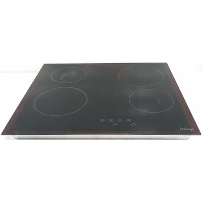 Omega OCC64TZ 60cm Induction Cooktop