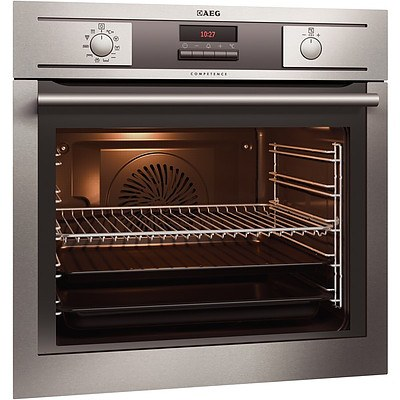 AEG Competence BP5013001M Pyrolytic 78 Litre Electric Wall Oven - Brand New - RRP $1500.00