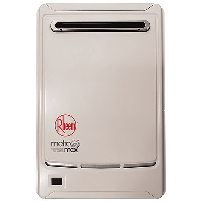 Rheem Metro 875E26NF Continuous Flow Natural Gas Water Heater - Brand New - RRP $799.00