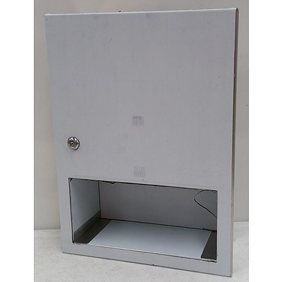 ASI Recessed Paper Towel Dispenser  - RRP $150.00 - Brand New
