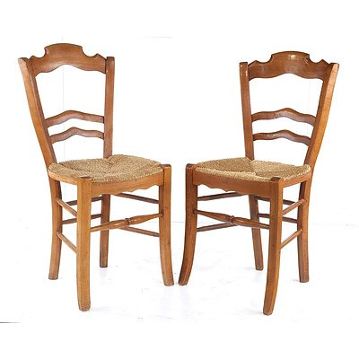 Set of Four Vintage Been and Seagrassr Chairs