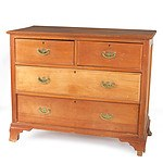 Antique Australian Kauri Pine Chest of Drawers Circa 1910