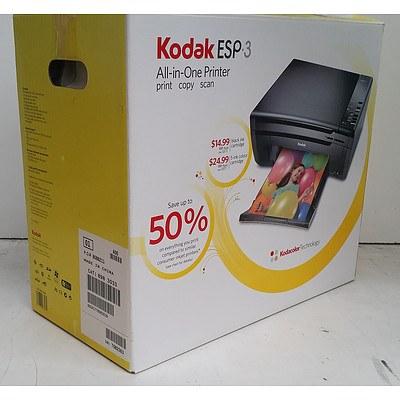 Kodak ESP 3 All-In-One Colour Inkjet Printer *BRAND NEW