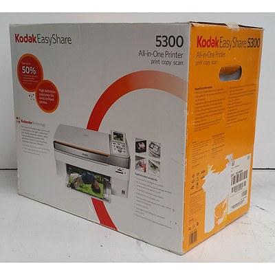 Kodak EasyShare 5300 All-In-One Colour Inkjet Printer *BRAND NEW
