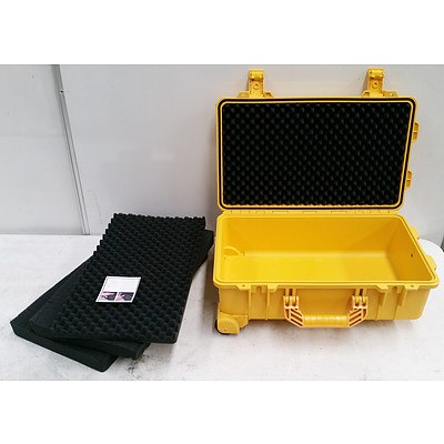 Kincrome Heavy Duty Tool Box with Extendable Handle and Wheels