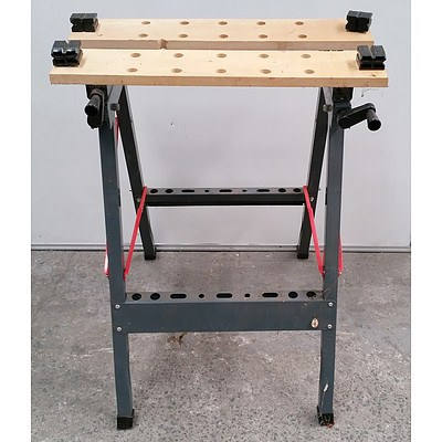 Folding Adjustable Clamping Workbench