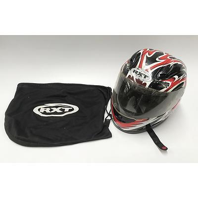 Medium Sized RXT Motorbike Helmet Model A-683