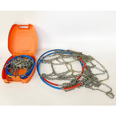 Two Sets of Snow Chains